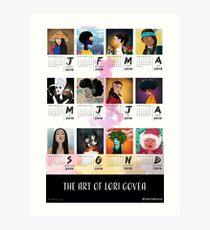 The Art of Lori Govea 2019 Calendar Art Print
