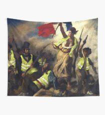 Tela decorativa La libertad guiando a los Gilet Jaunes