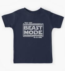 Beast Mode - Train Hard Or Go Home Kids Clothes