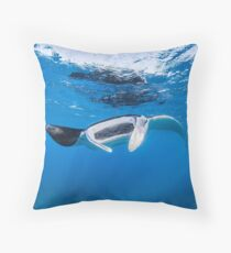Manta Ray Floor Pillow