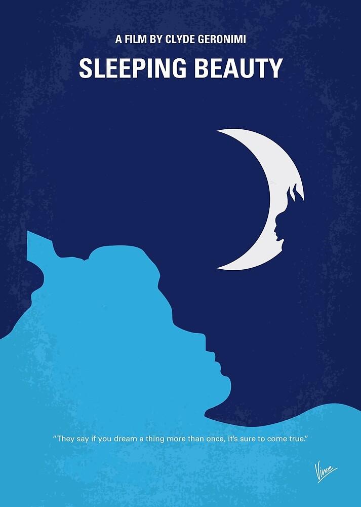 No1017 Mein minimales Filmplakat von My Sleeping Beauty von ChungKong Art