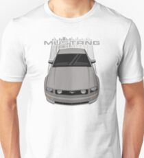 Mustang GT 2005 to 2009 - Mineral Grey Unisex T-Shirt