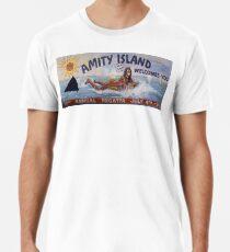 Willkommen bei Amity Island Männer Premium T-Shirts