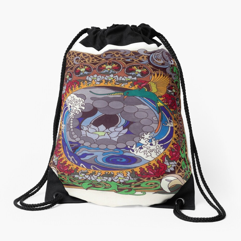 Whirlpool Drawstring Bag