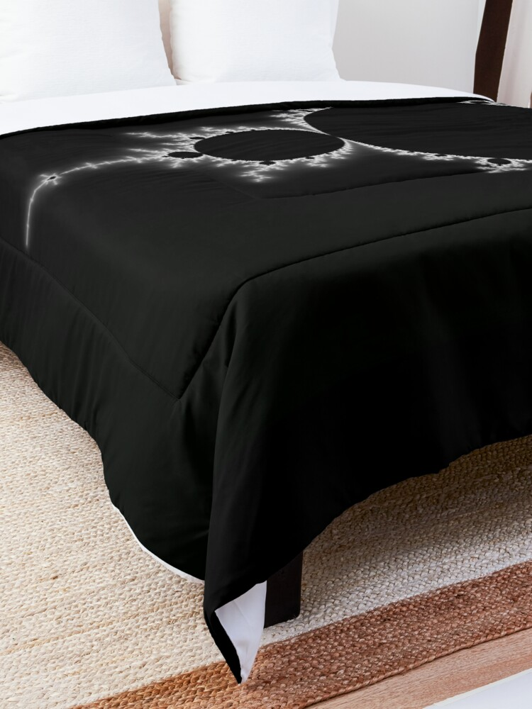 Alternate view of Simple Mandelbrot Comforter