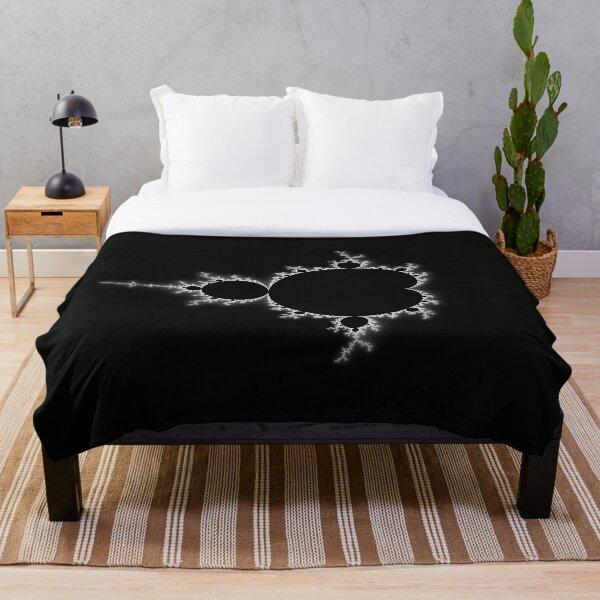 Simple Mandelbrot Throw Blanket