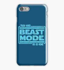 Beast Mode - Train Hard Or Go Home iPhone Case/Skin