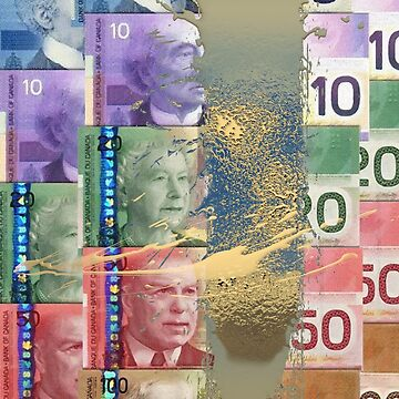 Pure Gold - Selection of Canadian Paper Currency by Captain7