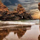 Sea Stacks on the Oregon Coast by Kathy Weaver