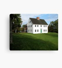 Maine House, Mount Desert Island Canvas Print