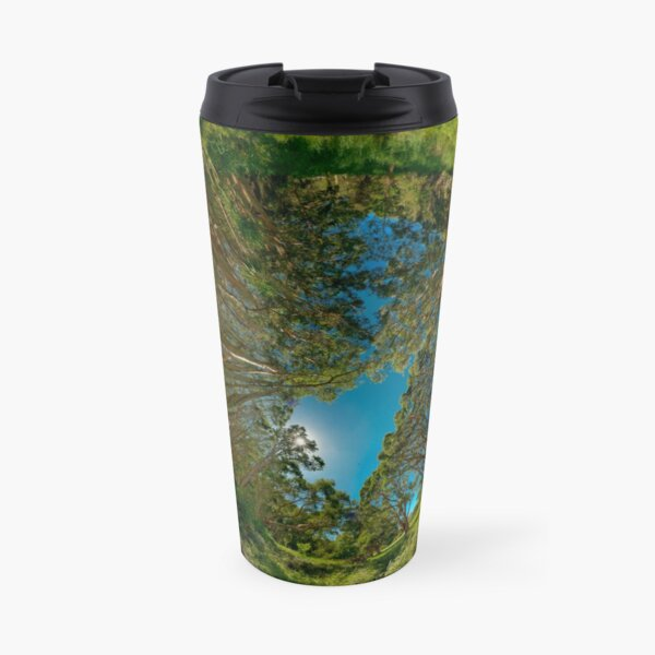 Stereographic view from Lachlan Swamp Travel Mug