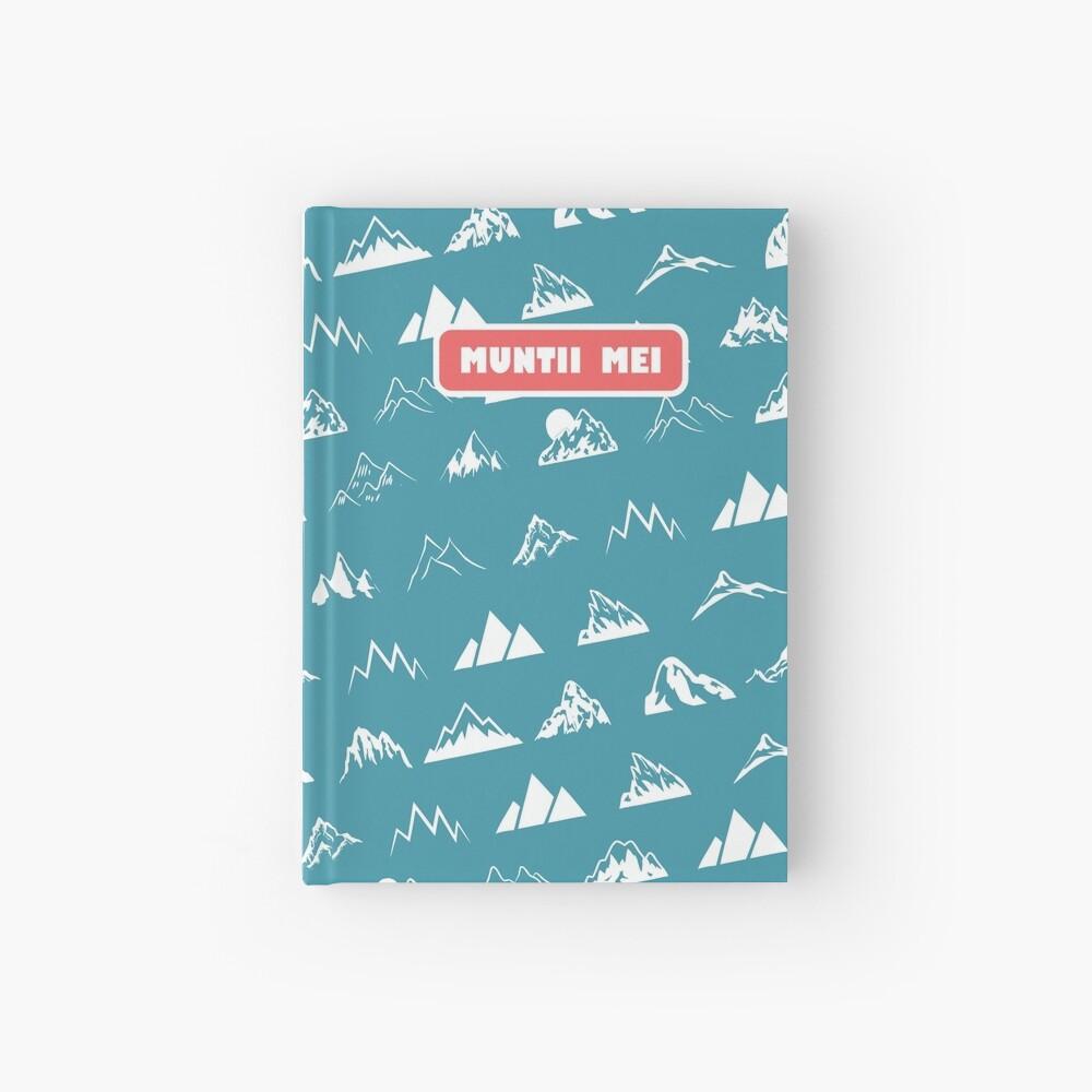 Muntii mei Hardcover Journal