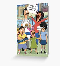 Belcher Birthday Card Greeting Card