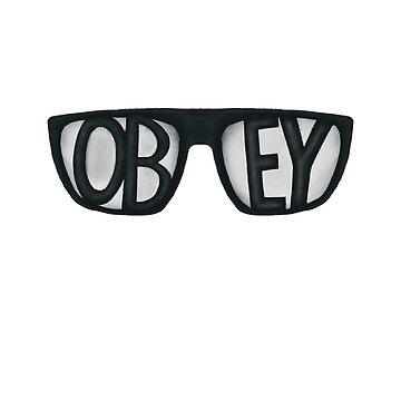 Obey! (They Live) by EstrangedShop