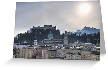 Festung Salzburg by Kasia Nowak