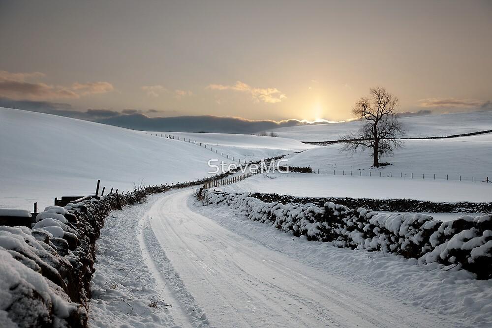 Winter In Winterburn by SteveMG