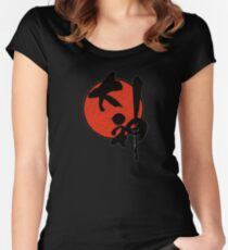 Okami Logo Women's Fitted Scoop T-Shirt