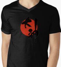 Okami Logo Men's V-Neck T-Shirt