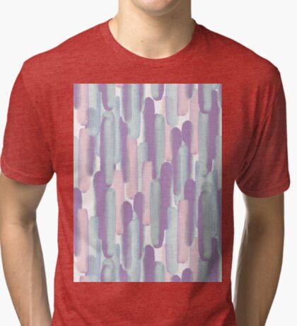 Crowd #redbubble #abstractart Tri-blend T-Shirt