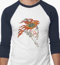 Amaterasu Men's Baseball ¾ T-Shirt