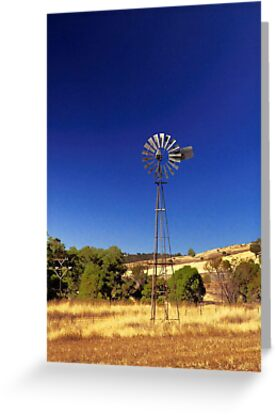 Farm Windmill  by EOS20