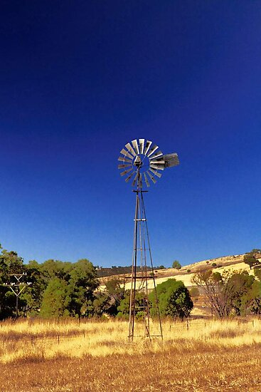 Farm Windmill  by EOS20