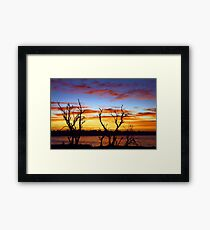 Yangebup Lake - Western Australia  Framed Print