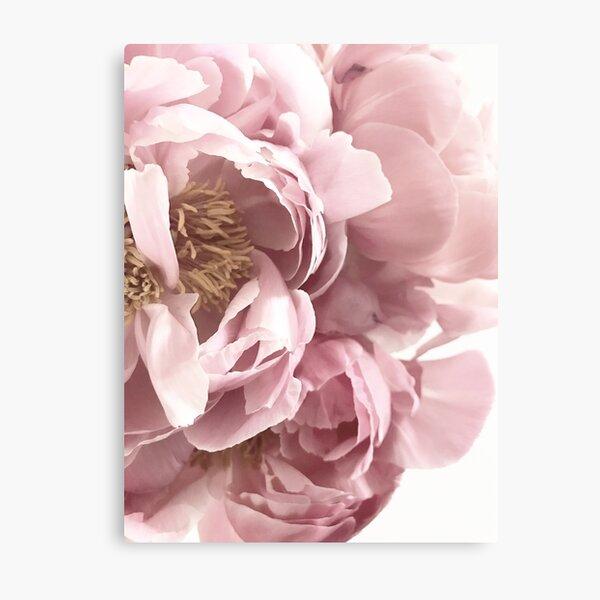 Pretty Pink Floral  Metal Print