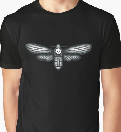 Death Head Moth (The Silence of the Lambs) Graphic T-Shirt
