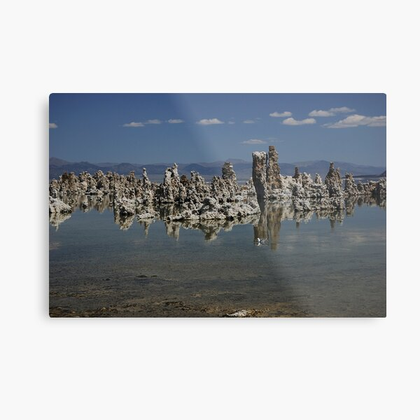 Mono Lake in July Metal Print
