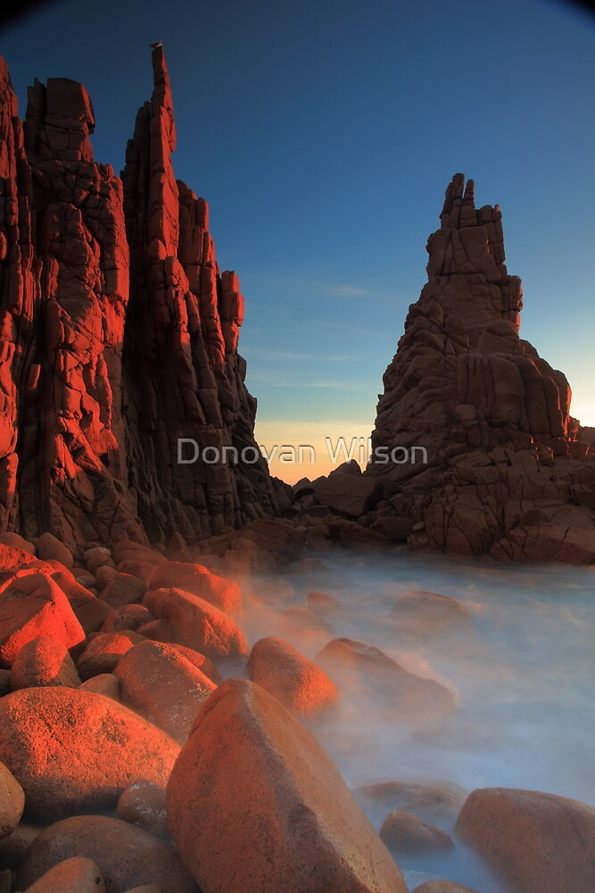 At the Pinnacle. by Donovan Wilson