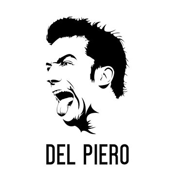 Alessandro Del Piero Vector Design - T Shirt | Poster | Mug | Phone Case | Wall Art | Home Decor and more | Juventus | Italy by footballicon67