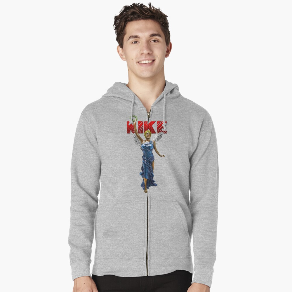 Nike Goddess of Victory Zipped Hoodie Front