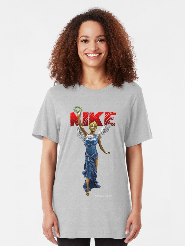 Alternate view of Nike Goddess of Victory Slim Fit T-Shirt