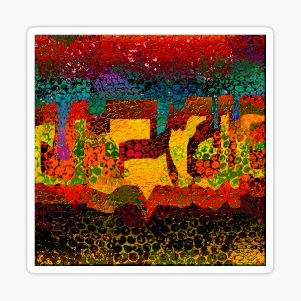 1732 Abstract Thought Sticker