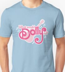 What would Dolly do? Slim Fit T-Shirt