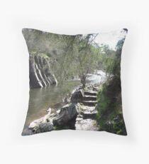 Bright Gorge Throw Pillow