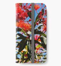 Flowering Gum Sky- Outrageous Orange iPhone Wallet/Case/Skin