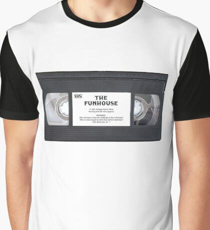 Vintage VHS: The Funhouse Graphic T-Shirt