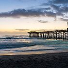 First Sunrise At Cocoa by Jennifer White