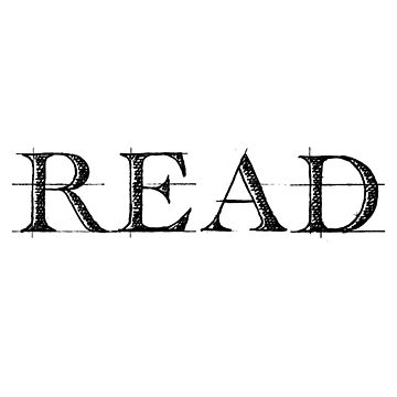 'Read' Cool Reading Book  by leyogi