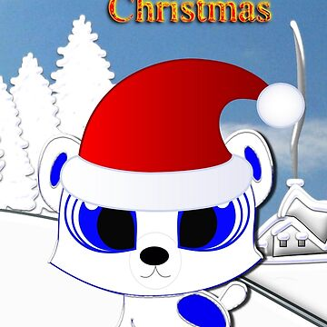 A Really Cool Polar Bear Wishes You All a Merry Christmas by ZipaC