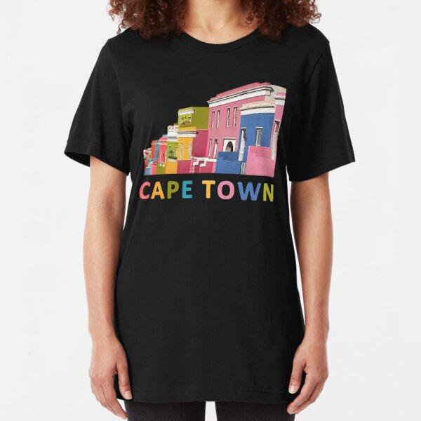 Bo-Kaap, Cape Town Slim Fit T-Shirt