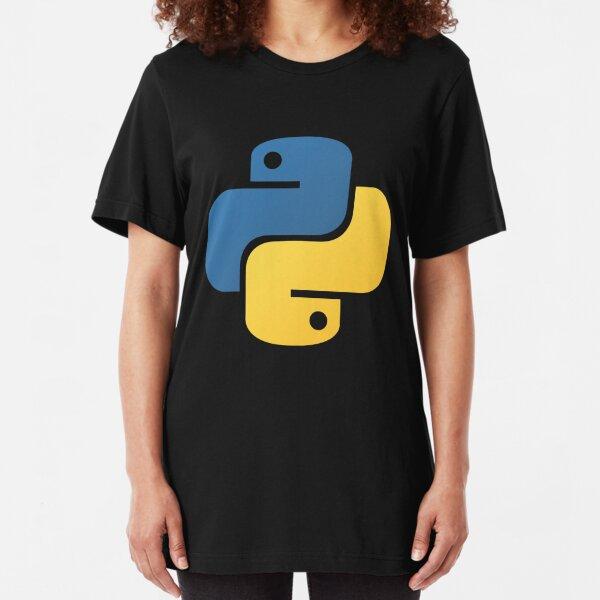 Python Programming Slim Fit T-Shirt