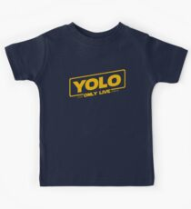 YOLO - You Only Live Once (SOLO style) Kids Tee
