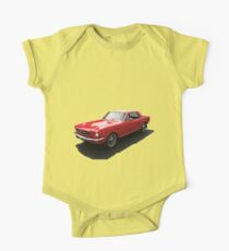 Red Mustang One Piece - Short Sleeve