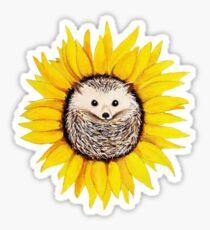 Happy Hedgehog  Sticker