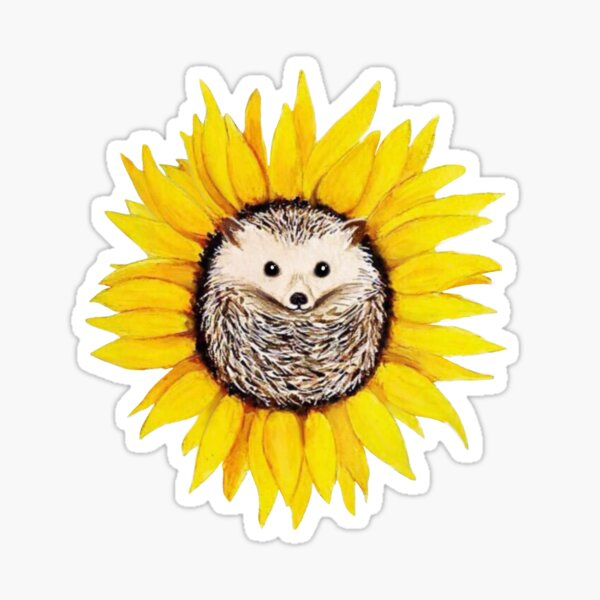 Happy Hedgehog  Sticker
