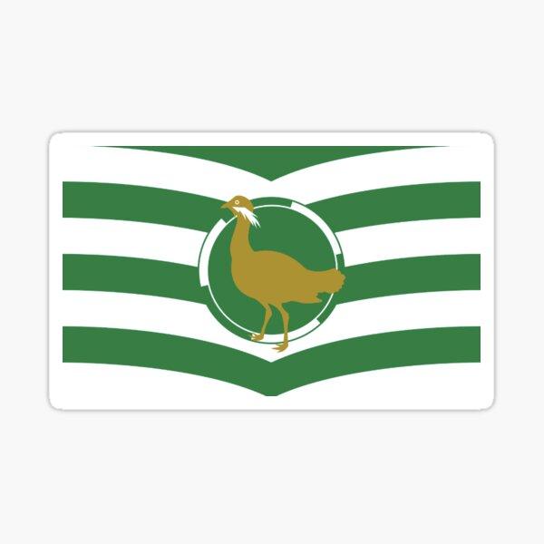 Wiltshire county flag sticker Sticker