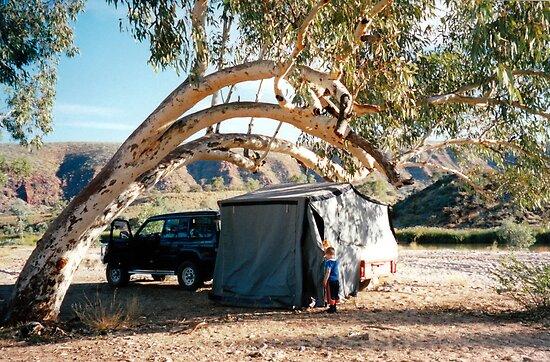 Finke Camping by Cheryl Parkes